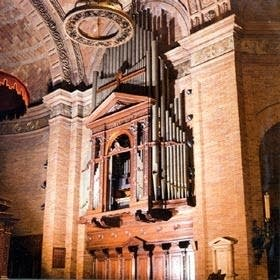 1935 Aeolian-Skinner organ at Saint Paul's Chapel, Columbia University,...