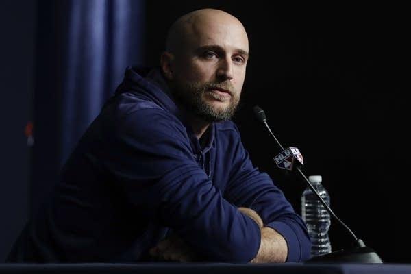 Minnesota Twins manager Rocco Baldelli