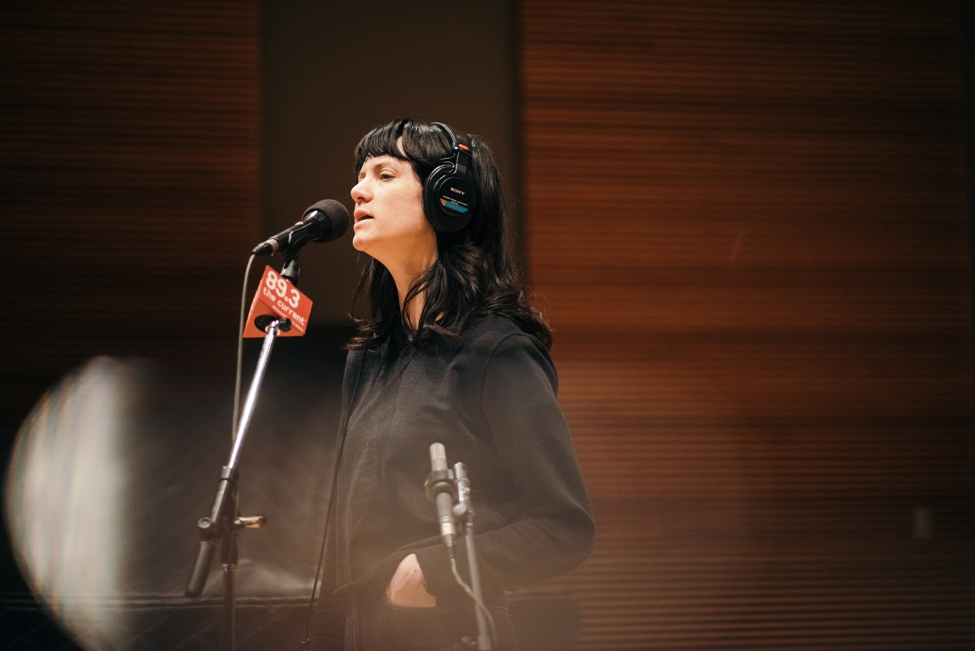 Nikki Lane performs in The Current studio