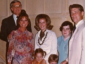 Mary Tyler Moore with Gov. Wendell Anderson and his family