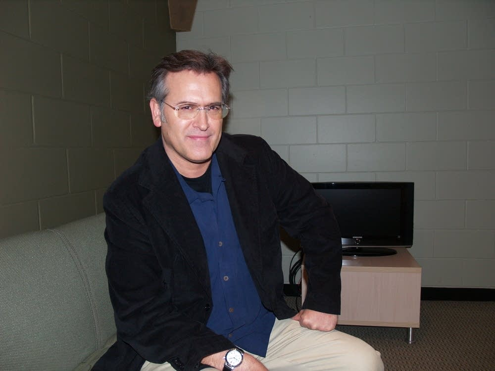 Bruce Campbell gets serious