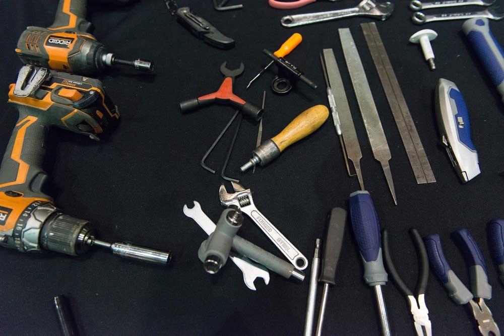 Tools for skate repair