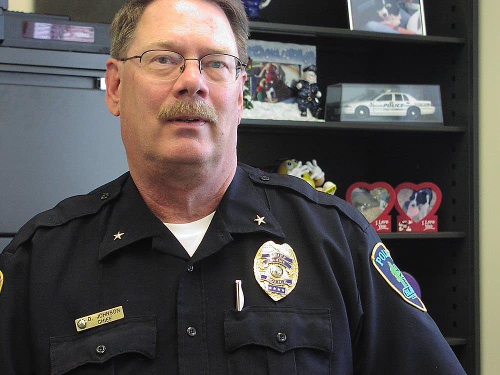 Blaine Police Chief Dave Johnson