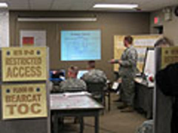 Minn. National Guard hold a flood briefing