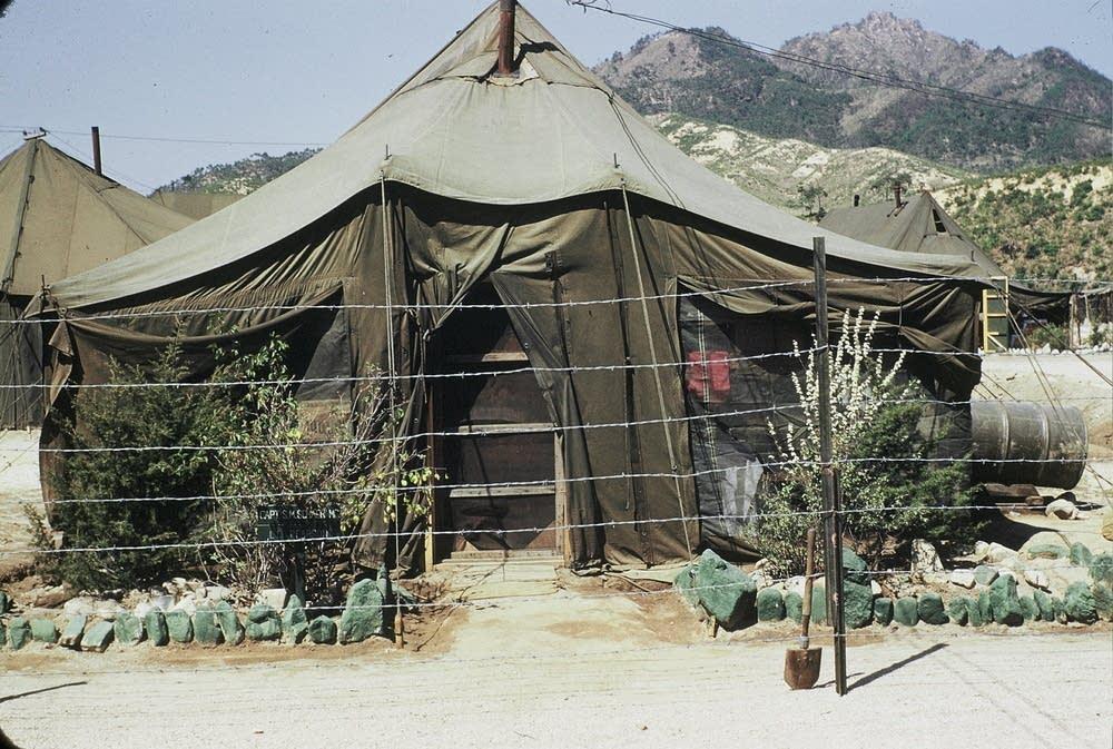 Sanford's tent