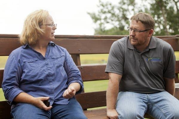 Teresa Meemken and Darren Newville