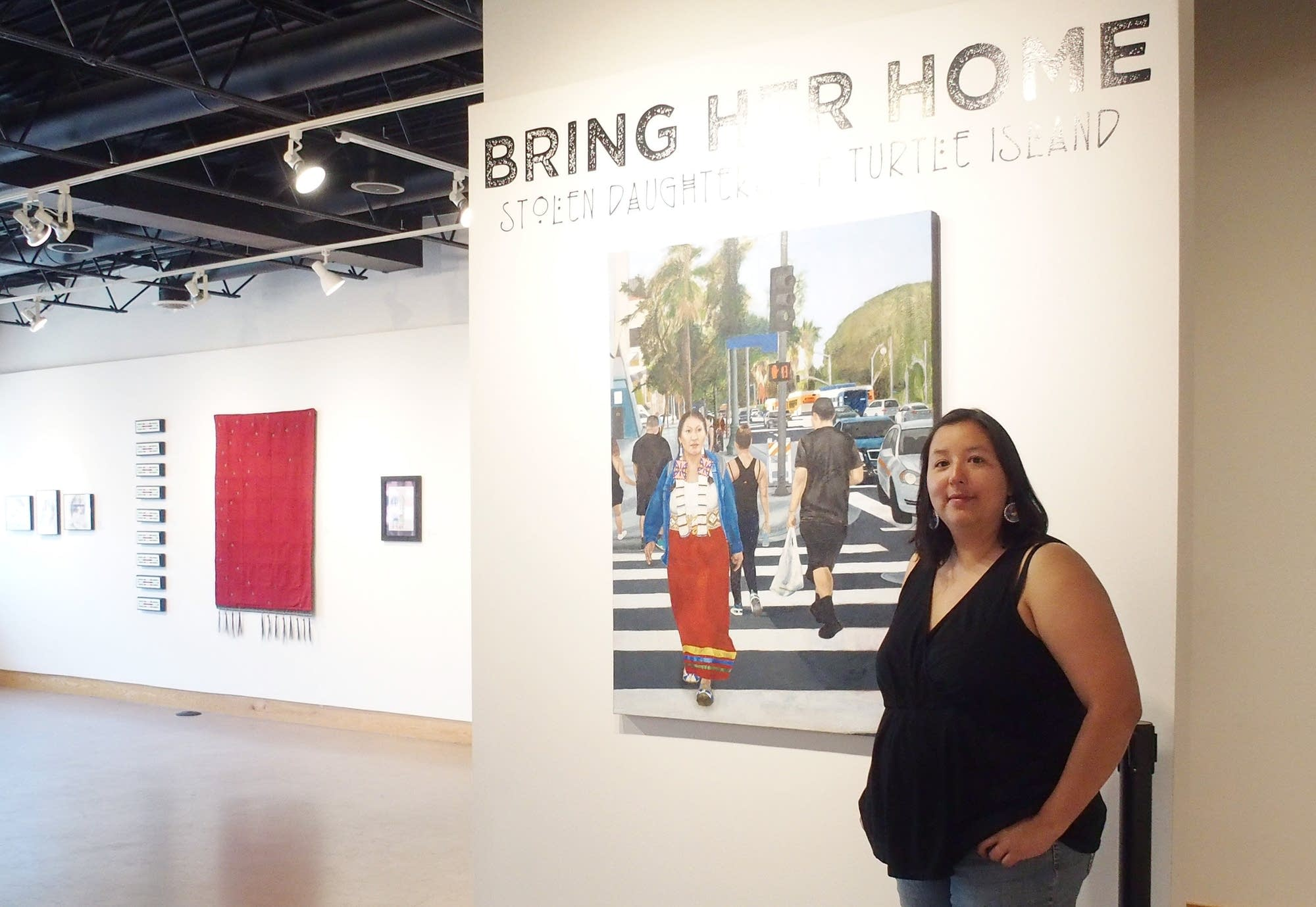 Angela Two Stars curated a show on missing and murdered indigenous women.