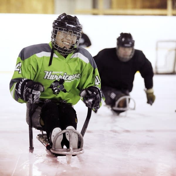 Hope sled hockey