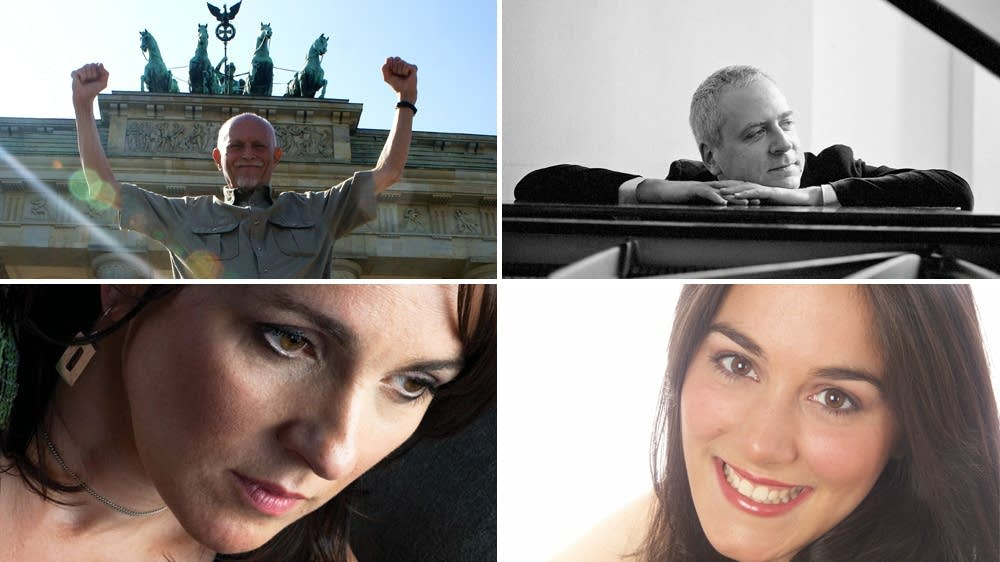 Edward Field, Jeremy Denk, Karan Casey, Christine DiGiallonardo