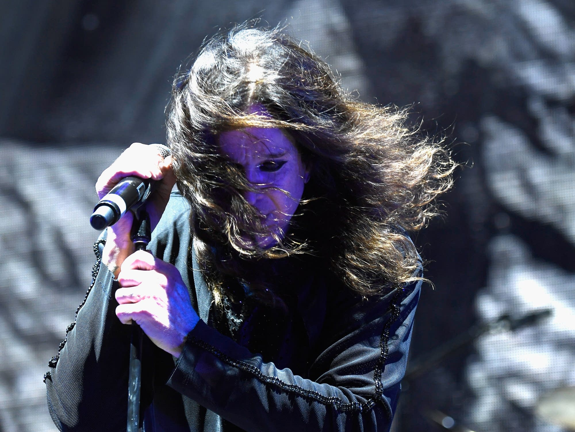 Ozzy Osbourne performs in Los Angeles during Ozzfest 2016.