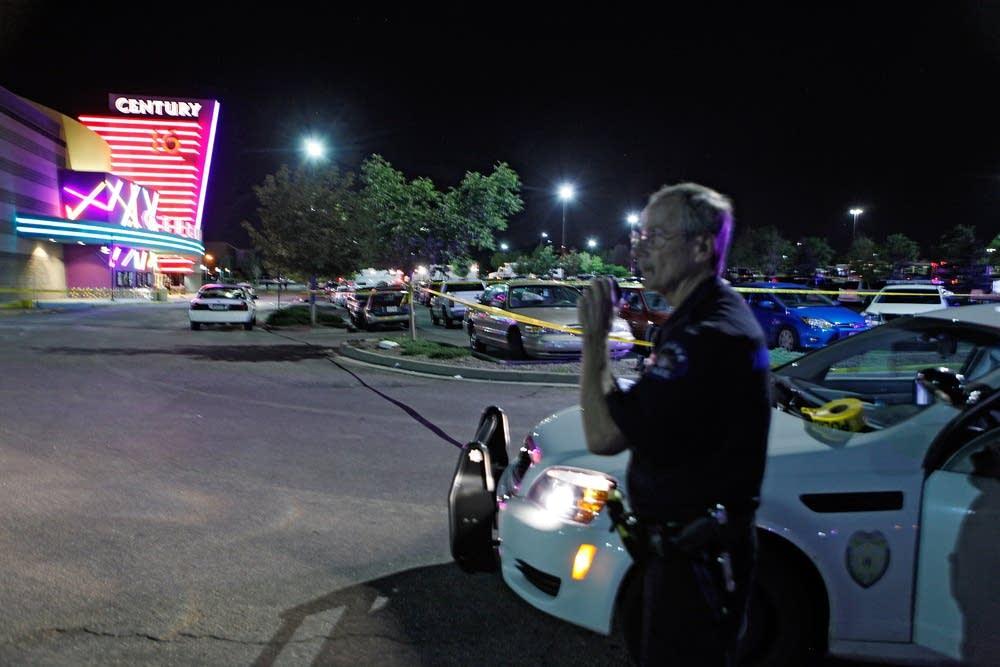 Officer at the scene