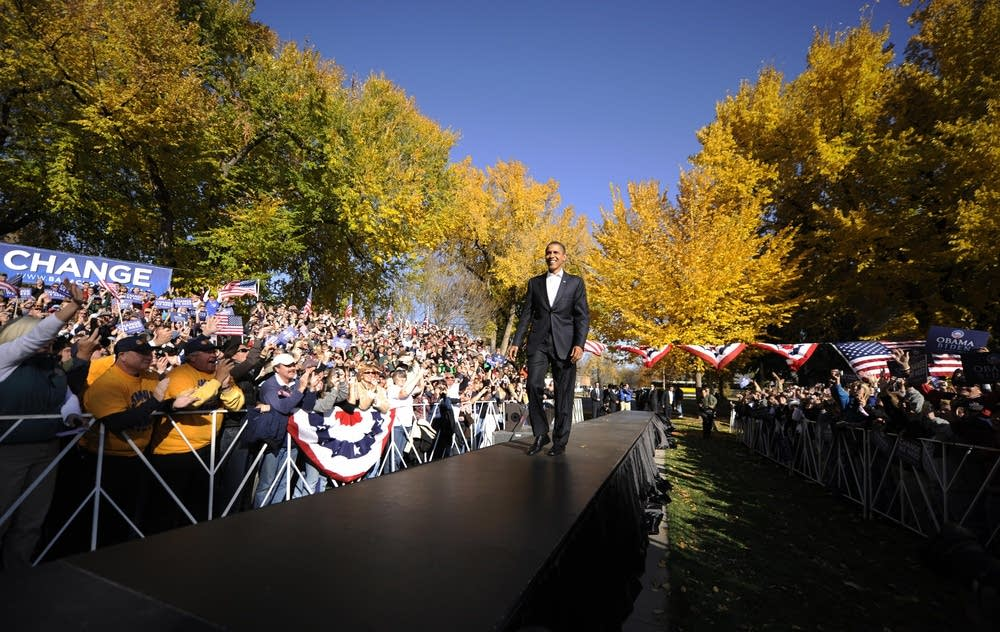 Barack Obama in Colorado