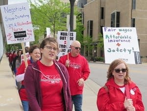 Minnesota Nurses Association members.