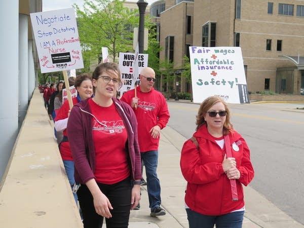 Minnesota Nurses Association members.