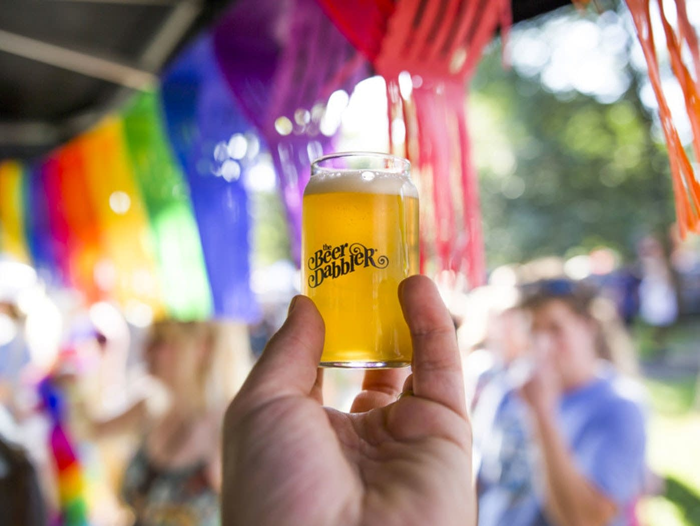 Beer Dabbler at Twin Cities Pride
