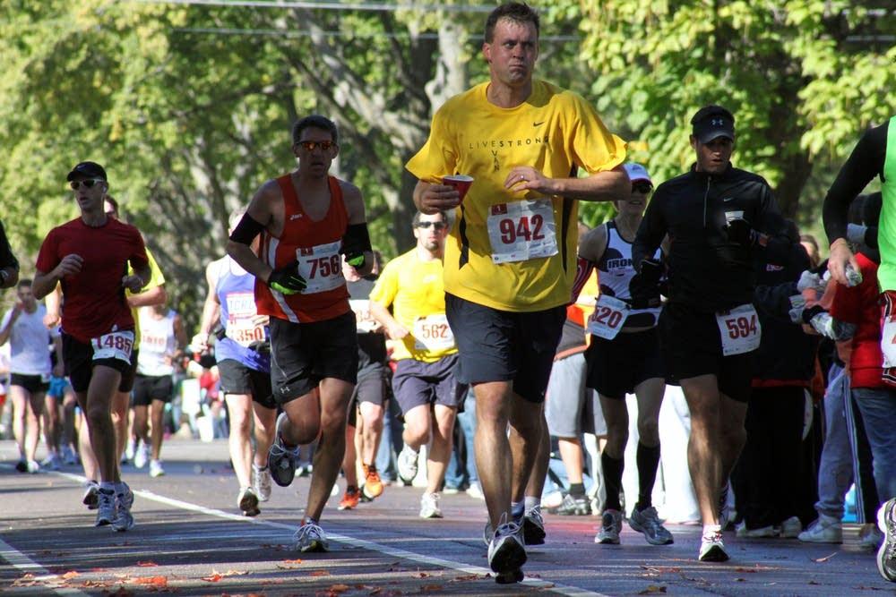 22-mile mark