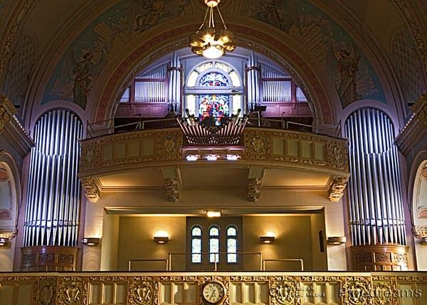 1920; 2002 Casavant Frères organ, Opus 869, at the Église des Saints-Anges-Gardiens, Lachine, Québec, Canada