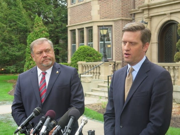 Tom Bakk and Kurt Daudt