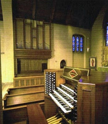 "1997 Schoenstein organ at Saint Paul's ""K"" Street, Washington DC"