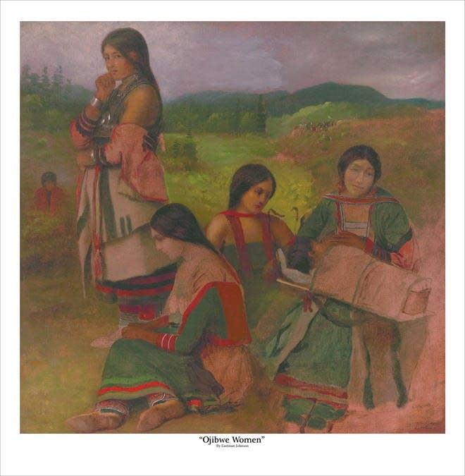 """Ojibwe Women"""
