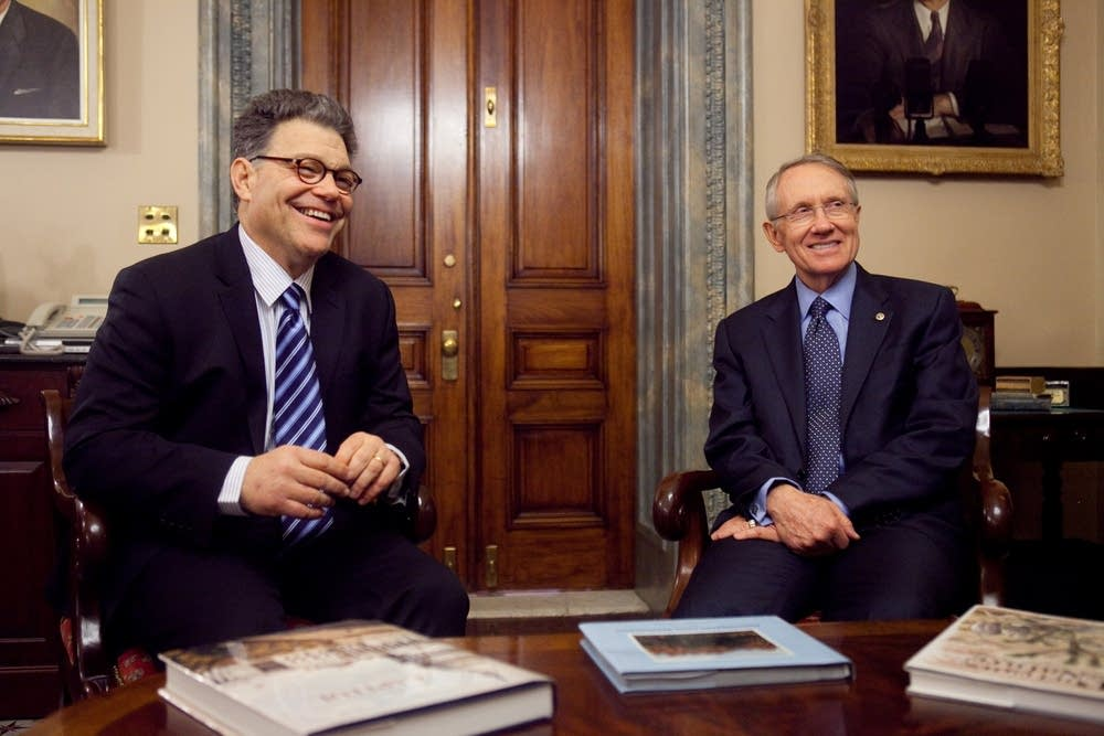 Franken meets with Reid