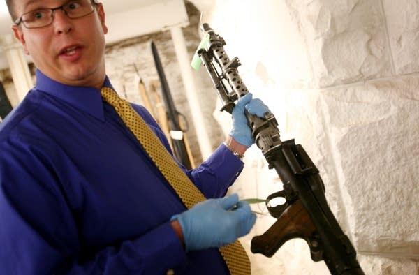 Recovered guns