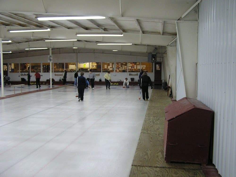 Members of the FM Curling Club