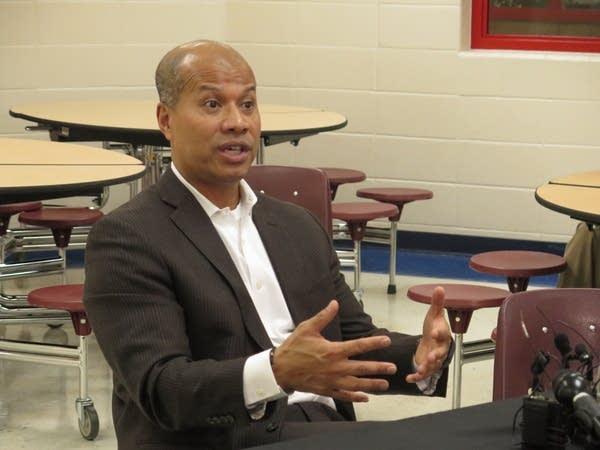 Interim Superintendent Michael Gore