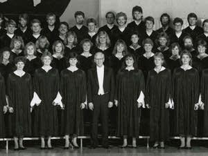 The St. Olaf Choir and Dr. Kenneth Jennings