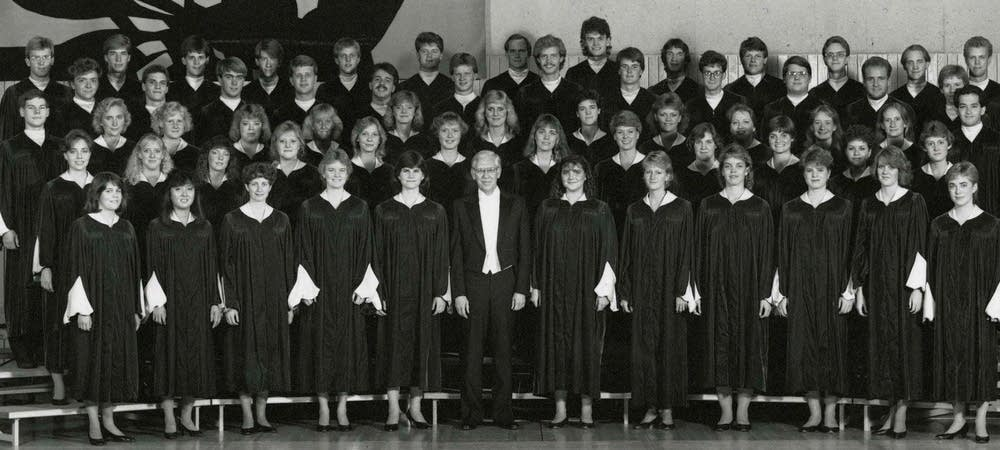The St. Olaf Choir and Dr. Kenneth Jennings