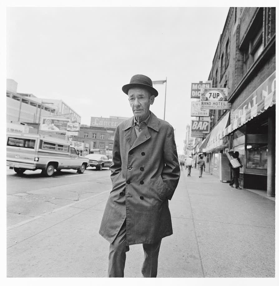 Man on Hennepin Avenue