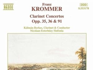 Franz Krommer - Concerto for Two Clarinets: I. Allegro