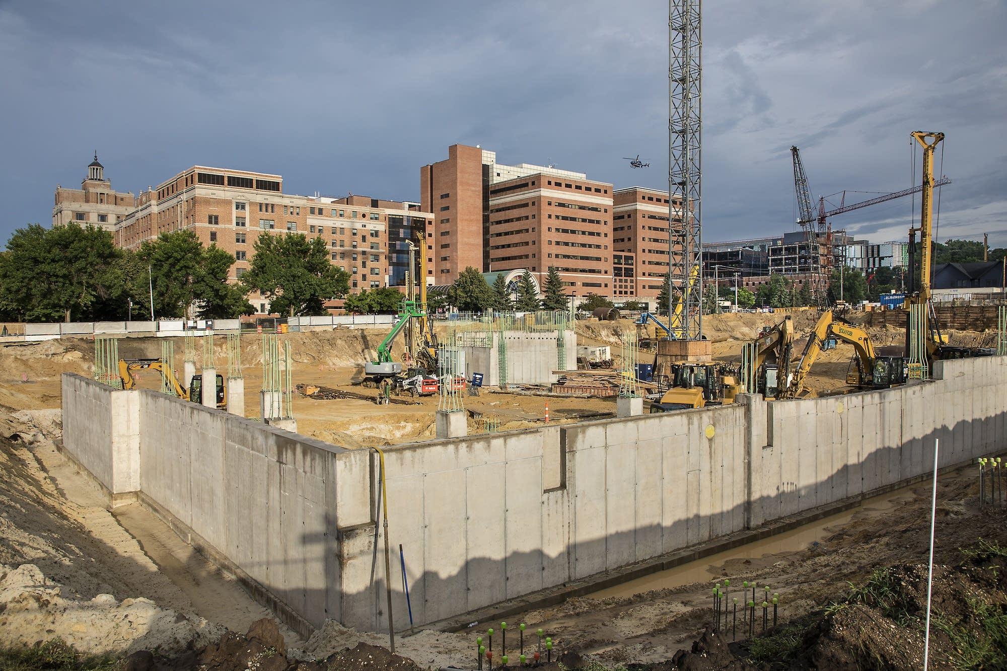 Rochester development hits its stride mpr news the berkman is a development across from saint marys hospital malvernweather Images