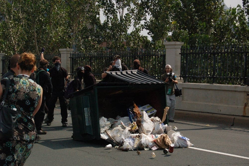 Dumpster dumped