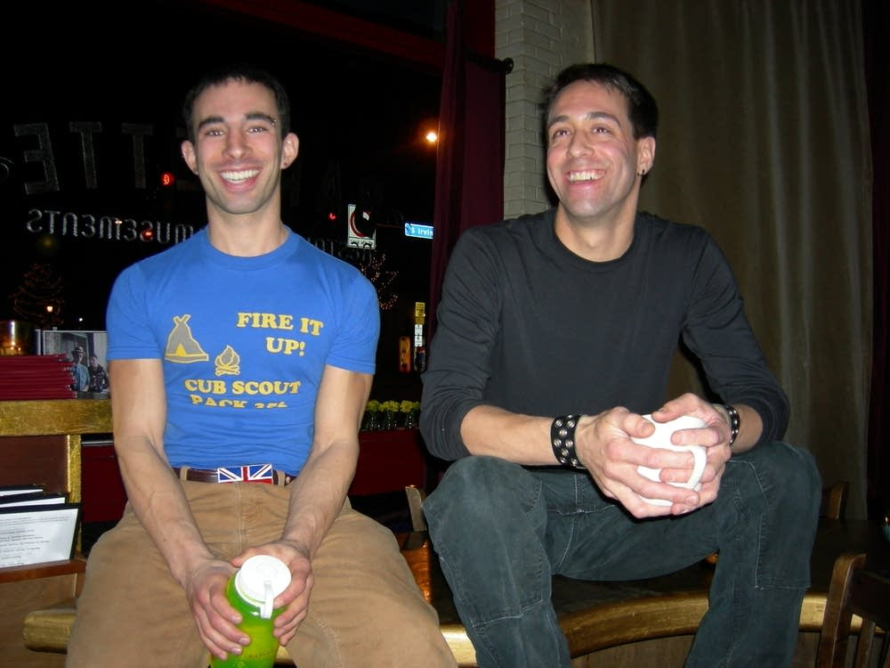 Andrew  and Jim