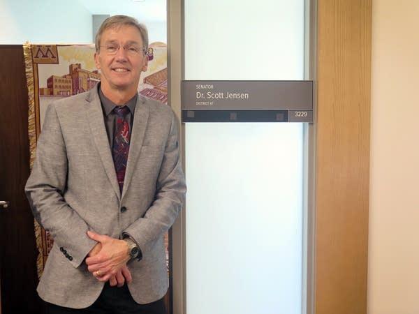 Sen. Scott Jensen, R-Chaska, one of two doctors