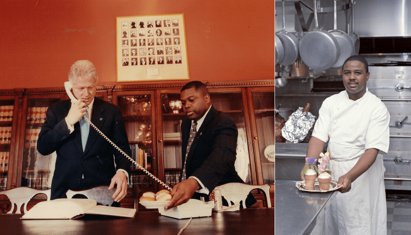 Photos of Black Cooks from White House Kitchen