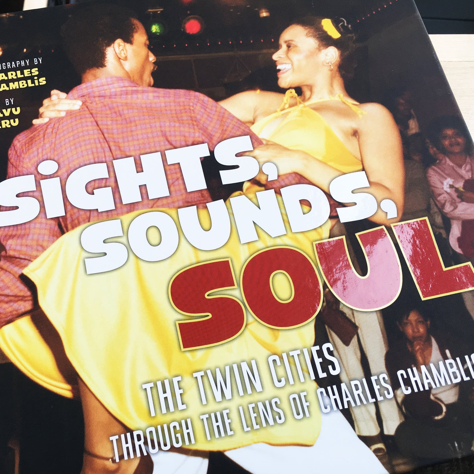'Sights, Sounds, Soul' book cover.