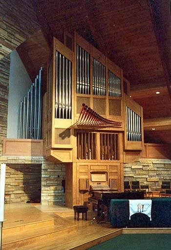 1999 Casavant organ at Incarnation Lutheran Church, Shoreview, MN
