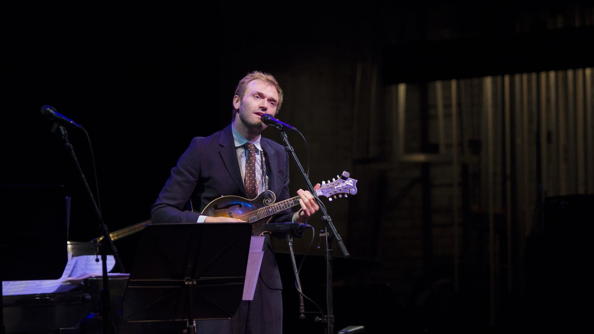 Your host, Chris Thile