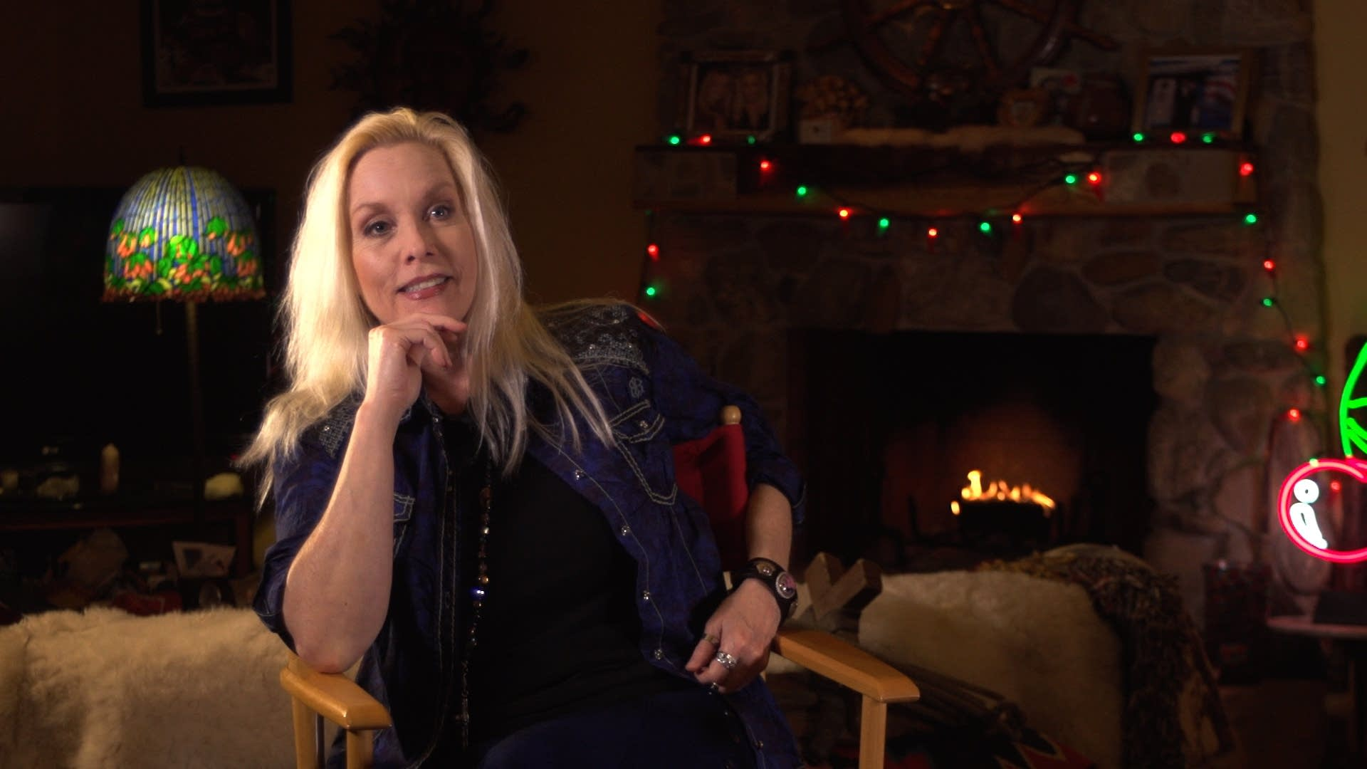 Cherie Currie in the Suzi Quatro documentary