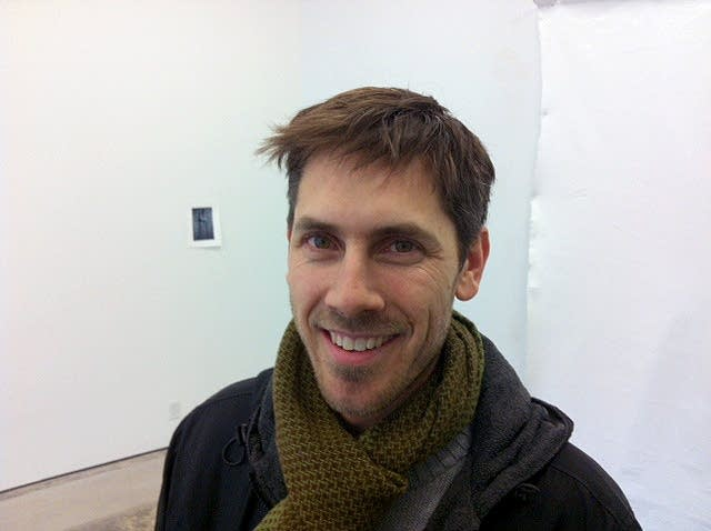 Gallery owner David Petersen