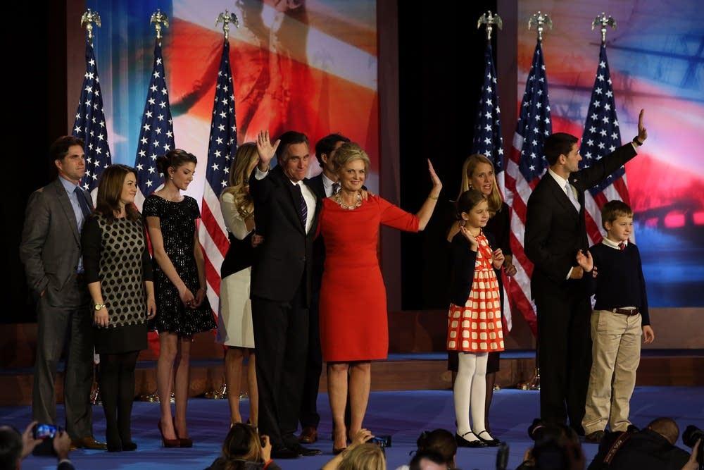 Romney, family