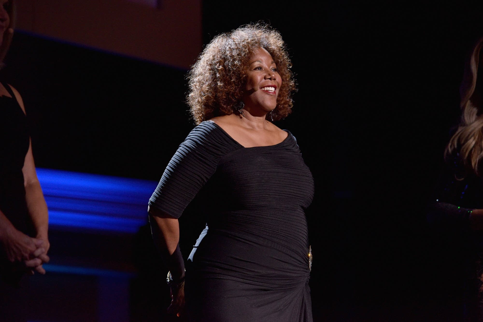 Ruby Bridges speaks onstage at Glamour's 2017 Women of The Year Awards.