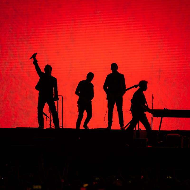 U2 perform at U.S. Bank Stadium