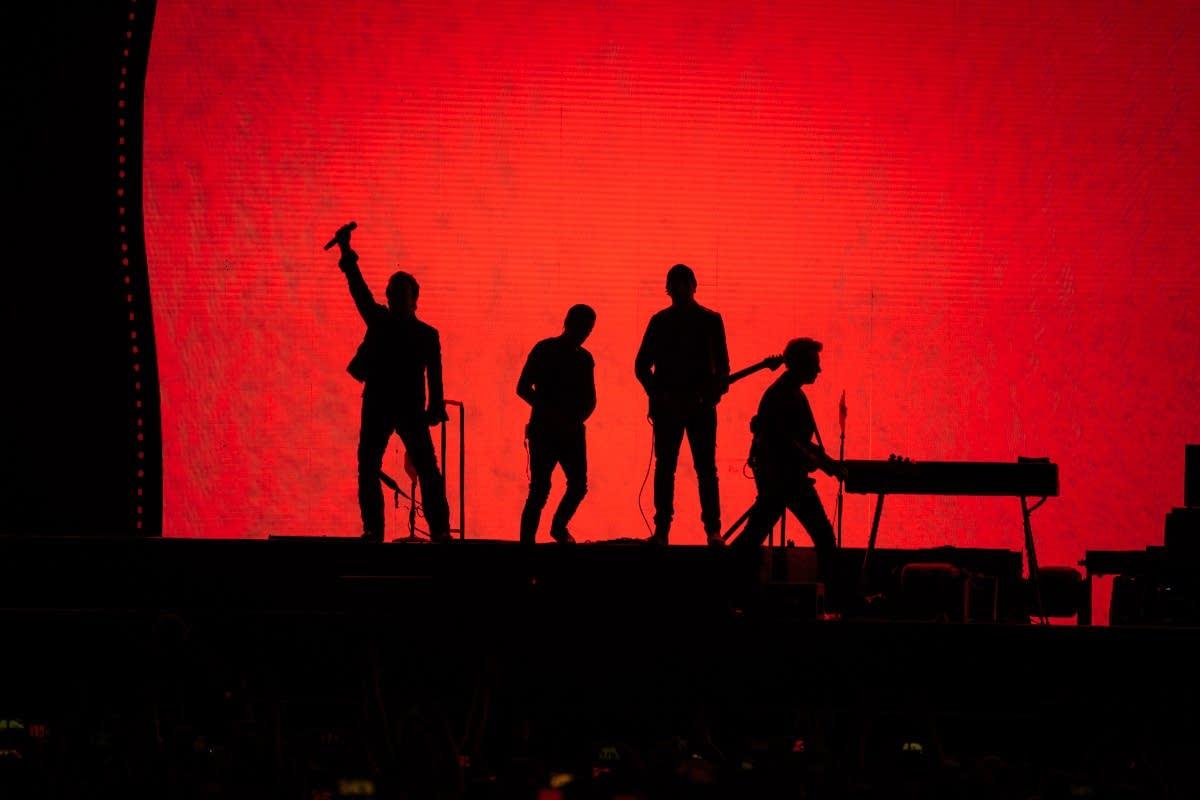 U2 perform at U.S. Bank Stadium