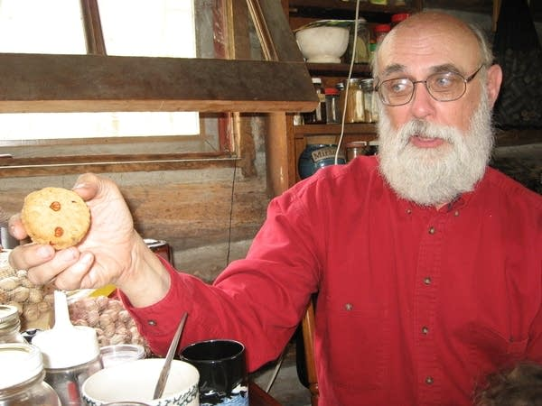 Phil Rutter and his Chestnut Cookies