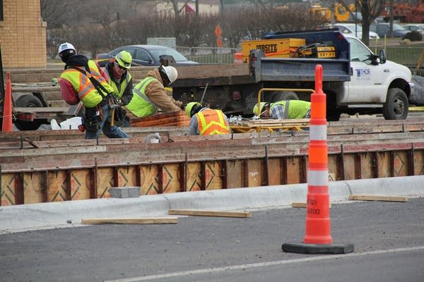 Central Corridor light-rail on University Ave.