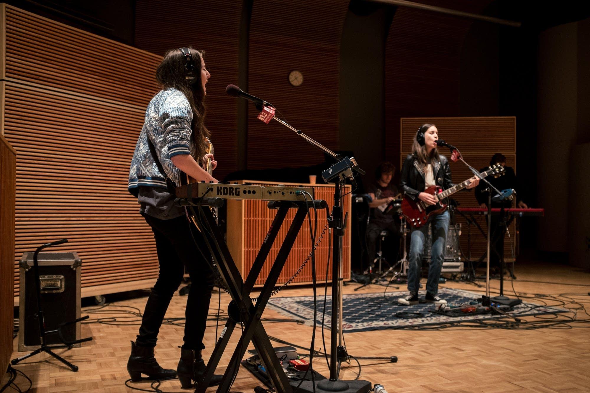 haim in studio 8