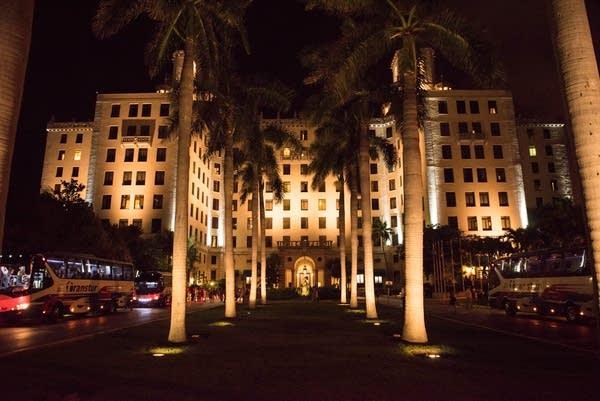 The Hotel Nacional, Havana Cuba. May 13th, 2015. MPR photo by Nate Ryan